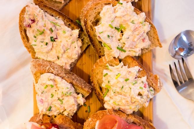 sandwich met tonijnsalade